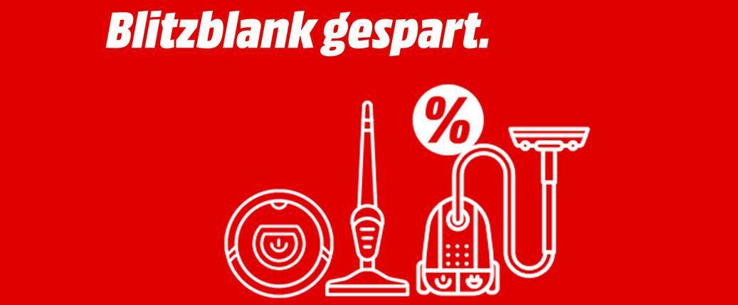 Media Markt mini Staubsauger Aktion: z.B. SHARK Wrap Flexology Akkusauger ab 199€ (statt 286€)