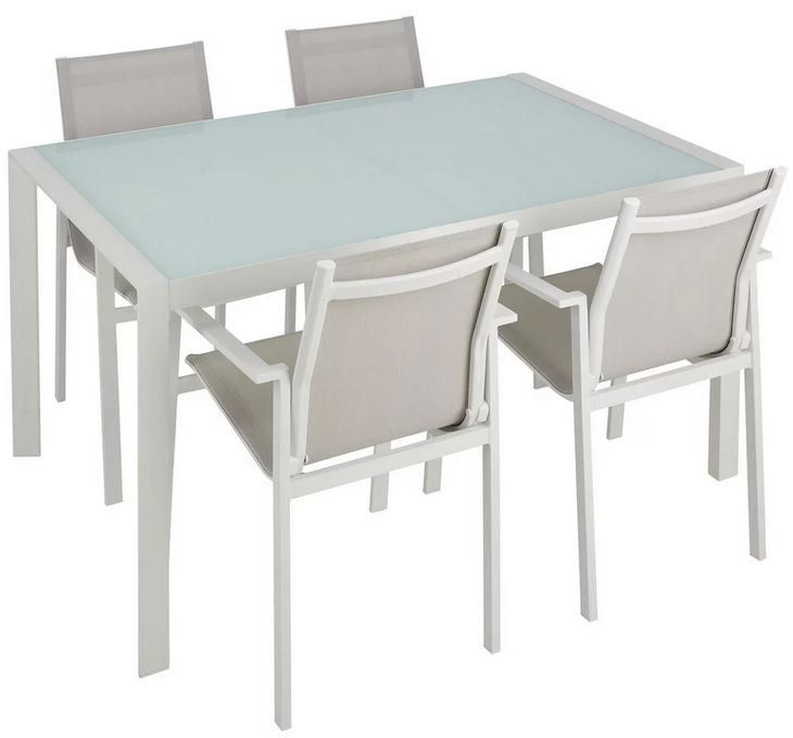 modern living Cancun Dining Loungeset 5 Teile ab 263,95€ (statt 428€)