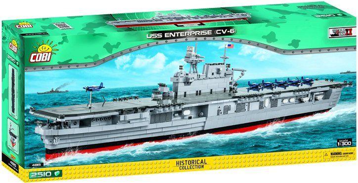 Vorbei! Cobi (4851) Flugzeugträger USS Enterprise CV 6 für 99,99€ (statt 140€)
