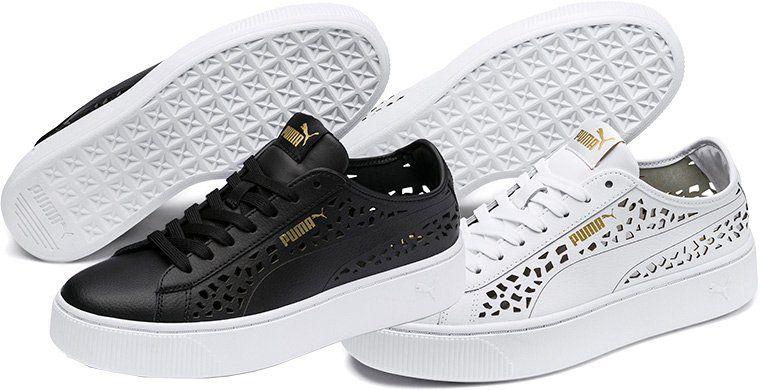 Puma Damen Sneaker Vikky Stacked Laser Cut für 29,95€ (statt 42€)