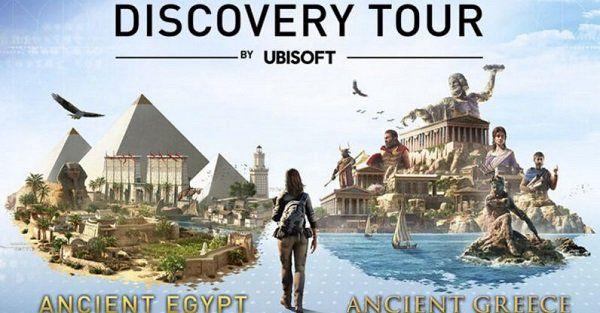 Ubisoft: Assassins Creed Discovery Tour   Ancient Greece & Ancient Egypt (IMDb 7,8/10) gratis