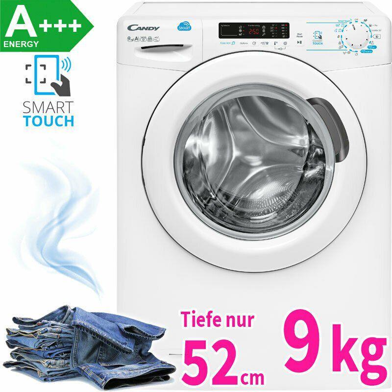Candy CS 1492D3 Waschmaschine (A+++, 9kg, 1.400 U/min & App Anbindung) für 254,90€ (statt 330€)