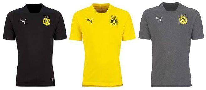 Puma BVB Borussia Dortmund Casual T Shirts für je 11,11€