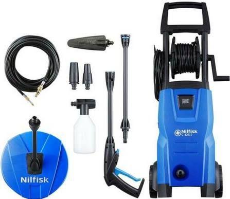Nilfisk C 125.7 6 PCAD X tra Hochdruckreiniger & Rohrreinigungs Set für 119,90€ (statt 150€)