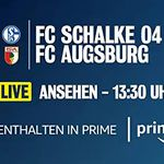 Amazon Prime: Schalke vs. Augsburg im Live-Stream!