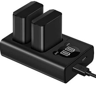 ESDDI FW50 USB Akkuladegerät für Sony Kameras inkl. 2 Akkus für 17,49€ (statt 35€)