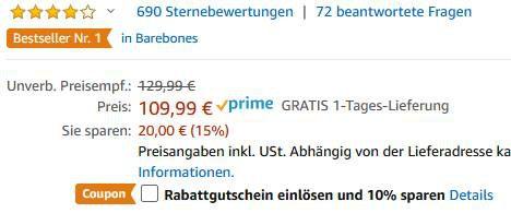 Raspberry Pi 4 Model B Kit mit 4GB & 32GB SD Karte für 82,49€ (statt 110€)