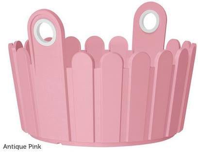 5x Emsa Landhaus Pflanzgefäß mit 26cm Durchmesser in Pink für 12,90€ (statt 40€)