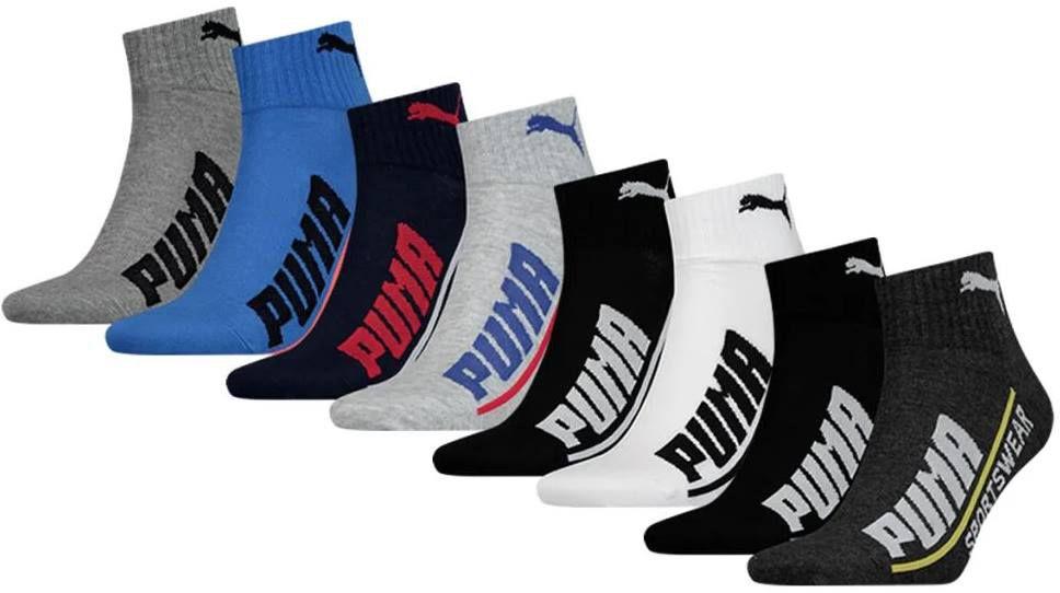 24er Pack: Puma Socken Logo Quarter in vielen Designs ab 36,95€ (statt 67€)