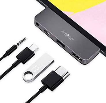 James Donkey 4in1 USB C Hub für das iPad Pro & MacBooks für 11,20€   Prime
