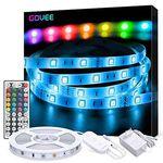 Goove 5m LED Streifen mit 5050 SMDinkl. Fernbedienung & 6 Dimmstufen für 10,39€ – Prime