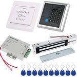 KKmoon Tür Zugangskontrollsystem inkl. 10 RFID Chips für 30,09€ (statt 43€)