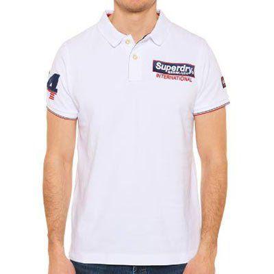 Superdry Polo Shirt Superstate Champion aus Bio Baumwolle für 22€ (statt 30€)