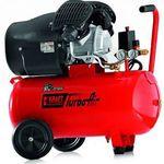 Kraft Werkzeuge Profi-Doppelzylinder TurboAir-V-Kompressor mit 50L, 8 bar & 3PS für 130,25€ (statt 219€)