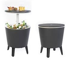 Keter Coolbar   Beistelltisch mit Kühlmöglichkeit (30L) in Orange für 48,90€ (statt 75€)