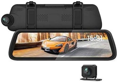BOSCAM R2 1080p GPS Dashcam & Rückfahrkamera im Rückspiegel für 84,99€ (statt 130€)