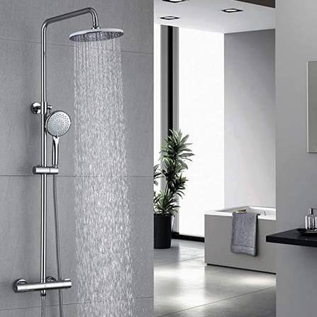Homelody FTF5070CB Duschsystem mit Regendusche & Handbrause für 88,90€ (statt 100€)
