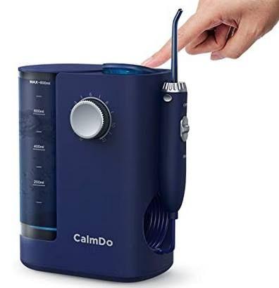 Elektrische Munddusche mit UV Desinfektion, 8 Funktionsdüsen & 800ml Wassertank für 19,99€ (statt 60€)