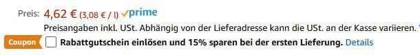 Geht noch: 6er Pack Duschdas 2in1 Duschgel & Shampoo Noir ab 3,70€ (statt 6€)