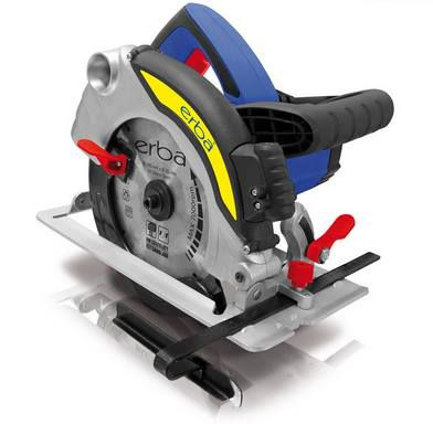 Erba Kreissäge 33662 mit Laser, 1600 Watt & 190 mm für 38,90€ (statt ~65€)