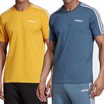 adidas Essentials 3-Streifen T-Shirt in 2 Farben für je 12,23€ (statt 19€)