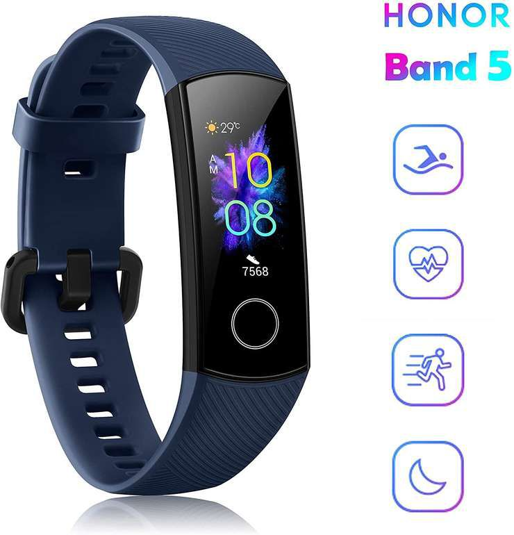 HONOR Band 5 Fitnesstracker mit AMOLED Display ab 23,45€ (statt 29€)   aus DE
