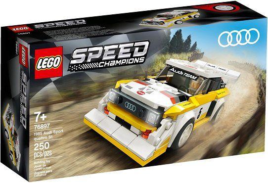 LEGO (76897) Speed Champions   1985 Audi Sport quattro S1 für 13,39€ (statt 18€)   Prime