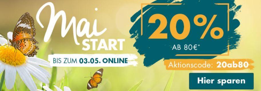 Galeria Weekend mit 20% Rabatt ab 80€   z.B. gute Bestecksets!