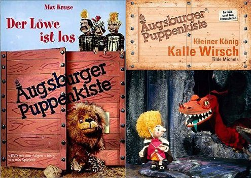 Kinderserien der Augsburger Puppenkiste gratis anschauen (z.B. IMDb 8,1/10)