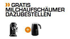 Delongi EC 685 Dedica Style Siebträger Espresso Maschine + Milchaufschäumer ab 148,99€ (statt 210€)