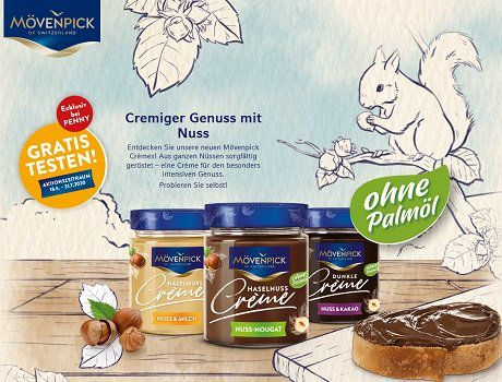Penny: Mövenpick Crème kostenlos ausprobieren   Fast Ausverkauft!