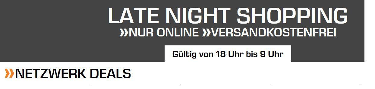 Saturn Netzwerk Late Night: z.B. Switch NETGEAR GS108E ProSafe Plus für 35,99€ (statt 42€)