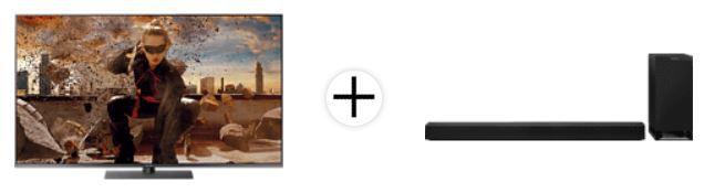 PANASONIC TX 55 55Zoll UHD TV + PANASONIC Soundbar für 949,95€ (statt 1.343€)