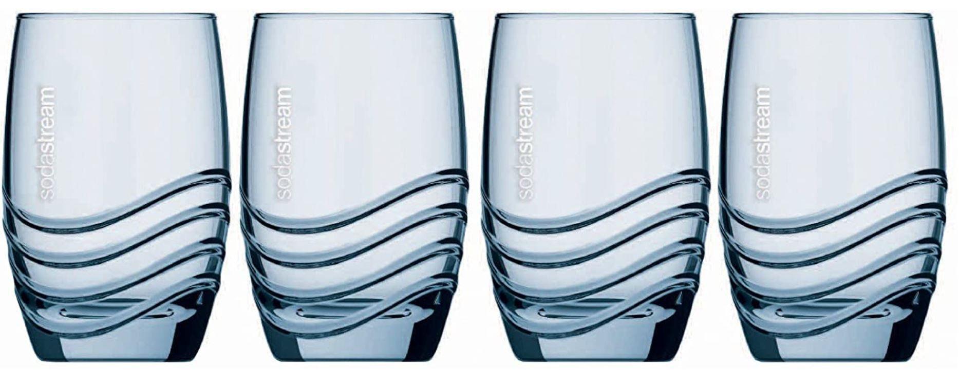SodaStream Designglas by Rastal 4er Pack (je 330ml) für 12,59€ (statt 17€)