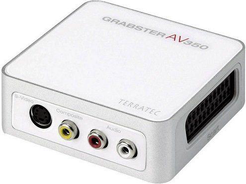 TERRATEC 10599 AV 350 MX GRABSTER Video Grabber für 59€ (statt 69€)