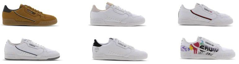adidas Continental Vulc Sneaker  für 49€(statt 70€)
