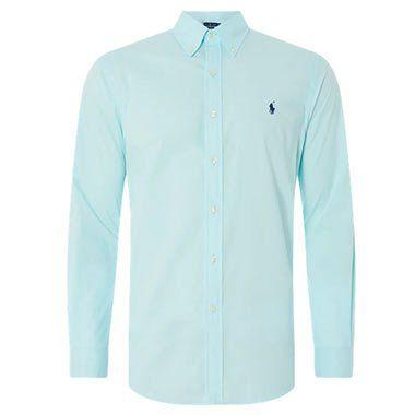 Polo Ralph Lauren Slim Fit Freizeithemd aus Popeline in 2 Farben für je 63,99€ (statt 100€)