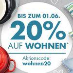Galeria 20% extra Rabatt auf Wohnen und Fashion: z.B. 60-teiliges Besteck Set WMF Atria für 71,99€ (statt 114€)