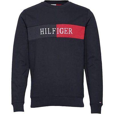 Tommy Hilfiger Intarsia Sweatshirt in Navy für 55,93€ (statt 80€)