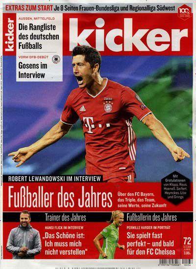 Vorbei! 104 Ausgaben vom Kicker für 118,30€ inkl. 65€ Scheck o. 75€ Amazon Gutschein