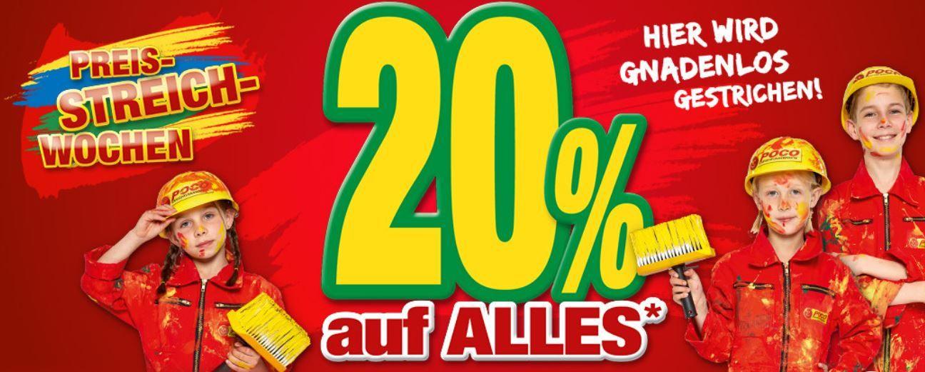 Poco mit 20% Rabatt auf (fast) alles auch im Sale   günstige Möbel & Co.