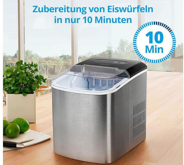 MEDION MD17739 Eiswürfelbereiter bis 12Kg für 99,99€ (statt 136€)