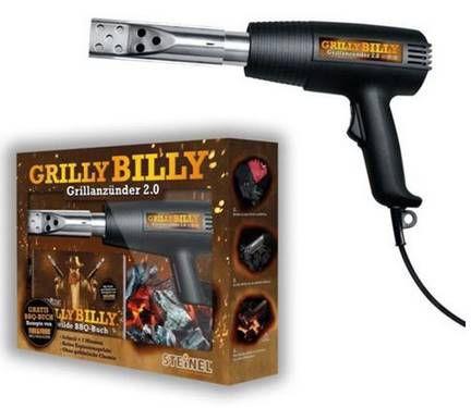 Steinel Grilly Billy 2.0 Heißluft-Grillanzünder für 16,99€ (statt 29€)