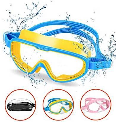 Omorc Kinder Taucherbrille (bis 15 Jahre) in 2 Farben für je 8,99€   Prime