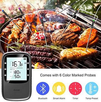 Govee Grillthermometer mit 6 Sonden & App Anbindung für 29,99€ (statt 43€)