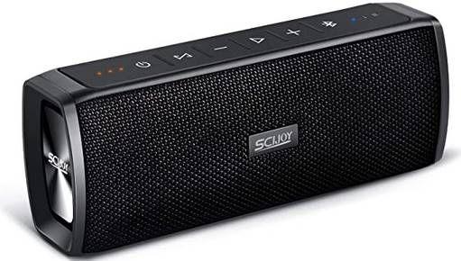 SCIJOY Bluetooth Lautsprecher mit 16W & bis zu 12h Spielzeit für 19,99€ (statt 40€)