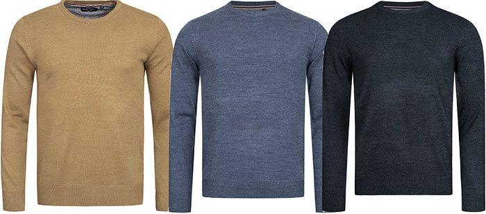 Brave Soul Parsec Crew Neck Sweatshirt in vielen Farben für je 7,77€ + VSK (statt 13€)