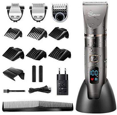 HATTEKER Profi Haarschneidemaschine mit Präzisionstrimmer und Langhaarschneider für 24,99€ (statt 50€)