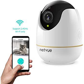 NETVUE 360° 1080p Überwachungskamera mit Bewegungserkennung für 24,99€ (statt 50€)
