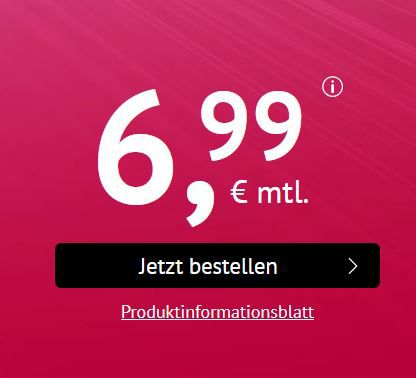 iPhone 6s mit Telekom Magenta All Net + Sms Flat + 500MB ab 39€